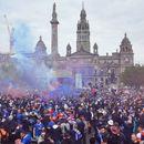 Навивачите на Ренџерс го запалија Глазгов, најмалку 20 уапсени (ВИДЕО)