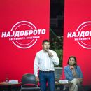"""Николовски на трибина во Пробиштип: И анкетите потврдуваат, """"Најдоброто"""" е во СДСМ"""
