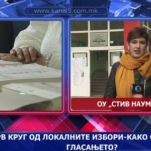 Прв круг од локалните избори-како се одвива гласањето?