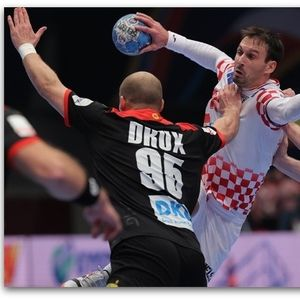Хрватска по драма со победа до полуфиналето на ЕП | Видео