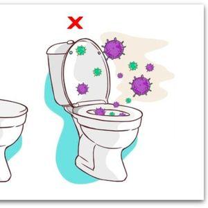 Ако не го спуштите капакот од тоалетната шоља, капките ќе летаат и до вашата глава
