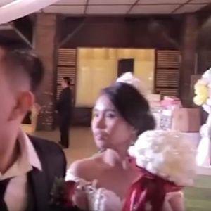 Смртоносниот тајфун запре венчавка: Токму кога сакаа да танцуваат, се слушна тресок, сите врескаа и бараа спас (ВИДЕО)