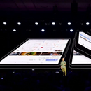 """Самсунг го промовираше својот """"флексибилен"""" смартфон"""
