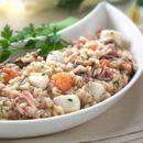 Рижото со морски плодови
