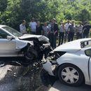 Несреќа на Скопје-Блаце: Граѓаните трчале да помогнат на возачите од смачканите возила