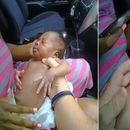 Бебе од 12 дена престана да дише: Автомобилот на мајката го запре полицаец кој во последен момент му го спаси животот