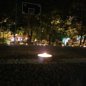 Кошаркарско игралиште во Автокоманда остана без осветлување, од УМС на ВМРО-ДПМНЕ испратија порака