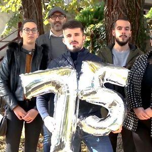 УМС на ВМРО-ДПМНЕ Тетово преку видео го честиташе 75-от роденден на градот