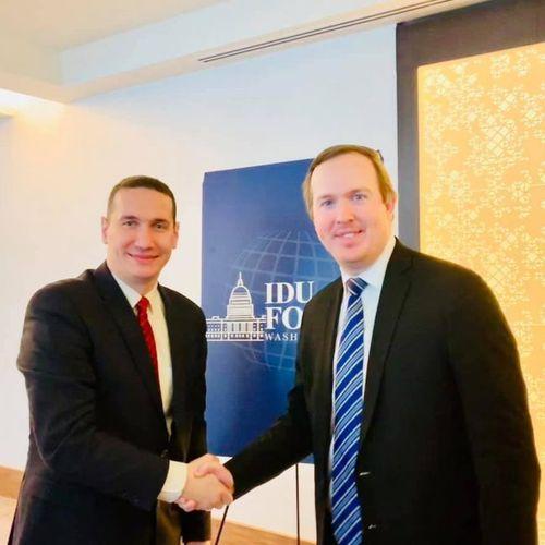 Ѓорчев се сретна со Брајан Џек, политички директор на Белата куќа на Трамп