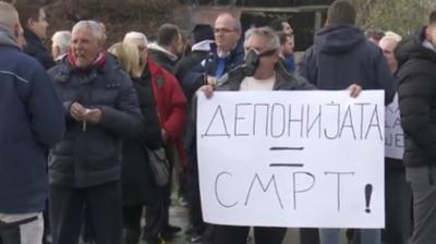 Протест во Ѓорче Петров- Итно да се отстрани дивата депонија