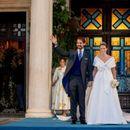 """Се ожени принцот Филипос: Невестата носеше античка тиара, но нема """"сина крв"""""""