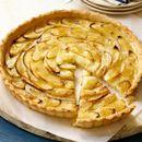 Тарт со ванила и јаболка со лиснато тесто