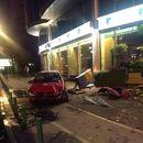 Скопјанка со автомобил се заби во зградата на ЕУ