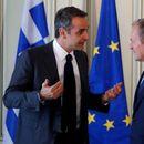 Мицотакис и Туск разговараа за проширувањата на Унијата со земјите од Западен Балкан