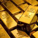 По девет недели раст падна цената на златото