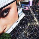 Илјадници луѓе одбележаа половина година протести во Хонгконг