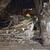 За време на полициски час, се урна стар објект во Куманово