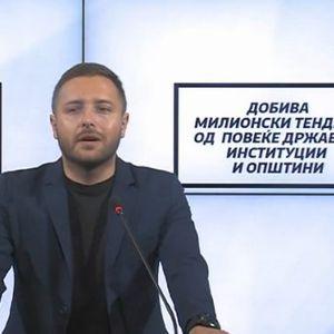 Прес конференција на Гордана Димитриеска Кочоска и Димче Арсовски