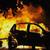 Опожарени две возила во Скопје