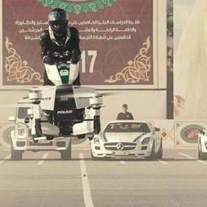 Почна обуката на полицајци за користење на летечките мотори во Дубаи
