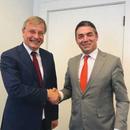 Димитров оствари повеќе средби во рамки на посетата на Хаг