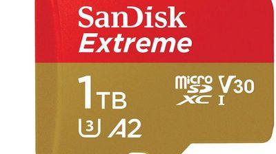 SanDisk објави една од првите microSD картички со капацитет од 1TB