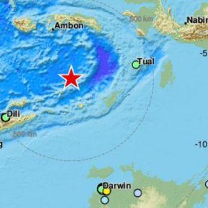 Земјотрес од 7.3 на Рихтер во близина на Индонезија и Тимор-Лесте
