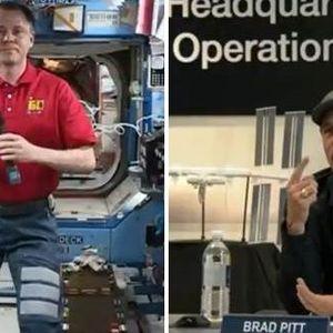 (Видео) На Бред Пит му се исполни сонот : Едвај чекам да им кажам на децата !