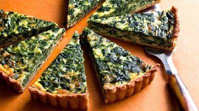 Зелен тарт со сирење