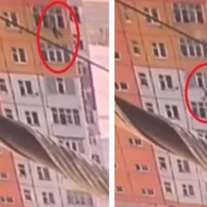 Чудо во Сибир: Жена падна од 9 спрат, стана и си замина (ВИДЕО)