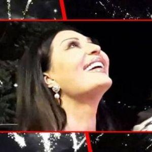 Величествен огномет во чест на малиот Жељко: Како изгледала синоќешната забава во домот на Цеца