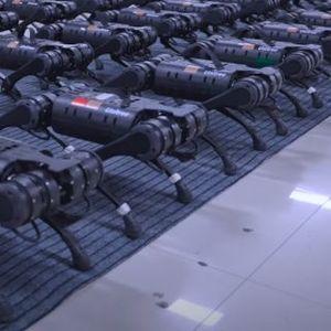 """Кинескиот конкурент на """"Бостон Дајнамикс"""" има морничаво реални роботи со четири нозе"""