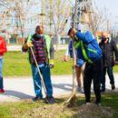 Започна пролетната акција за засадување на 200 ореви во Карпош