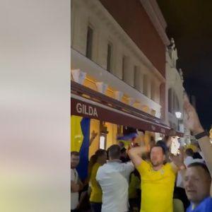 """Украинските навивачи во еден глас: """"МАКЕДОНИЈА ЕЈ ЕЈ"""""""
