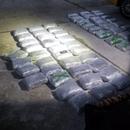 ФОТО: Пресечен меѓународен канал на транспорт на дрога од Албанија кон Грција во вредност од околу 200.000 евра
