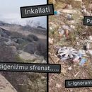 WATCH: 'Best View In Malta' Ruined By Endless Rubbish Thrown All Along Scenic Road