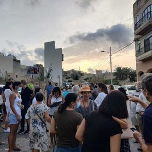 WATCH: Għargħur Residents Take To The Streets To Protest Development Which Will 'Kill Village's Heritage'