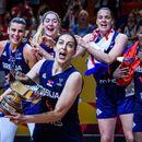 Srbija ima svoju kraljicu! Zlatna Jelena Bruks trenirala i u 9. mesecu i s bebom igrala za Srbiju