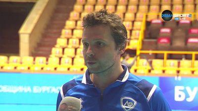 Андрей Жеков: Горд съм с играчите, направихме крачка напред