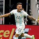 Звезда на Интер се развихри за Аржентина в отсъствието на Меси