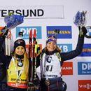 Вирер спечели първия старт при дамите в биатлона