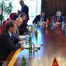 Средба на Мицкоски со  Мешовитиот парламентарен комитет за претстојниот референдум