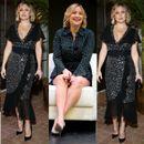 Пет недели по породувањето, холивудската актерка блесна во фустаните на Мајкл Корс
