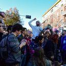 Студентите го блокираа сообраќајот во Тирана