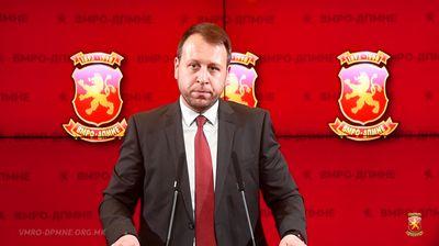 """Јанушев: """"Талир"""" е уште еден обид за груб политички притисок во пресрет на уставните измени"""