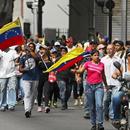 Претседателот на парламентот се прогласи за преоден претседател на Венецуела