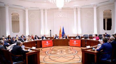 Заев и Анѓушев на средба со германски стопанственици: Во Македонија има 200 компании со германски капитал