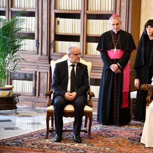 Македонска делегација на молебен и на аудиенција кај папата во Рим