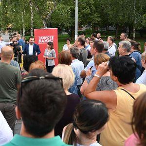 Царовска на маалска средба во општина Центар: Создадовме систем кој извлекува од сиромаштија