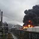 Прозорци и врати на згради во Кина пукаа од моќна експлозија во фабрика за гас